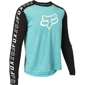 Fox Ranger Dri-Release LS Jersey Youth, azul/verde